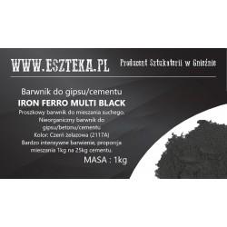 Czarny pigment do betonu i...